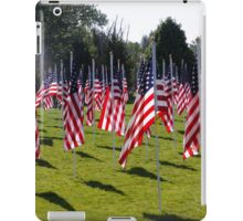 Support Our Troops! Past, present, and future! iPad Case/Skin