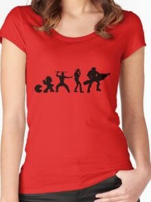 Evolutionary Women's Fitted Scoop T-Shirt
