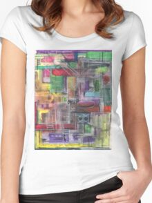 ALL CIRCUITS GO(C2012) Women's Fitted Scoop T-Shirt