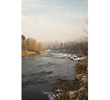 Cold Winter Morning Photographic Print