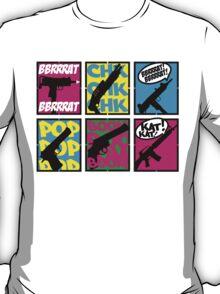 COMIC BOOK GUN SOUNDS T-Shirt