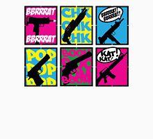 COMIC BOOK GUN SOUNDS Unisex T-Shirt