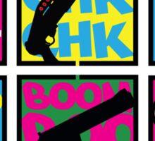 COMIC BOOK GUN SOUNDS Sticker