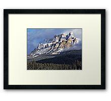 The Castle Revealed Framed Print