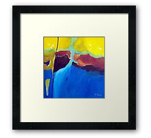 Lay Of The Land Framed Print