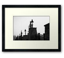 Dark Mystery Framed Print