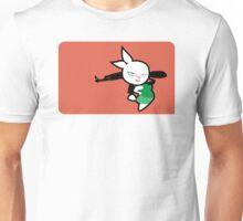 Bunny Girl Commando Unisex T-Shirt
