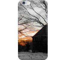 Winter Barn iPhone Case/Skin