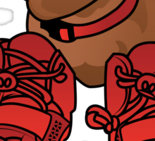 Jeff in Red Octobers Toon Sticker