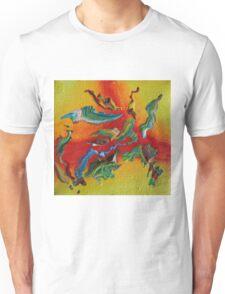 """Intrepid"" original abstract artwork Unisex T-Shirt"