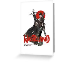 Wasteland / Nomad Bounty Hunter Greeting Card
