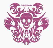 skull tattoo pink T-Shirt