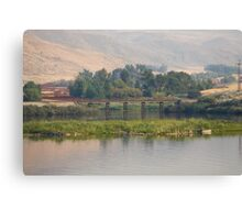 Small Town Trussell Canvas Print