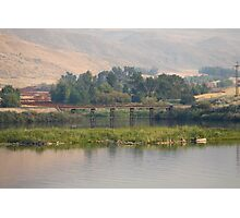 Small Town Trussell Photographic Print
