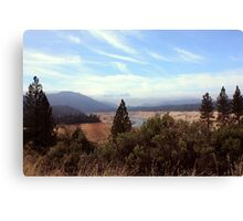 Sierra Foothills II Canvas Print