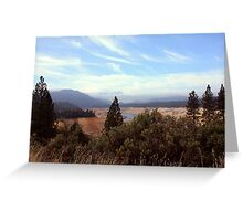 Sierra Foothills II Greeting Card