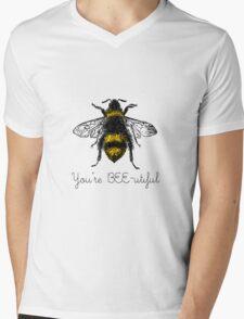 You're BEE-utiful Mens V-Neck T-Shirt