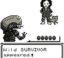 Wild SURVIVOR appeared! by SaMtRoNiKa