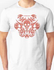 skull tattoo orange T-Shirt
