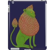 Asparagus Lion, King of the Vegetables iPad Case/Skin