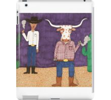 Meanwhile, back on the ranch... II iPad Case/Skin