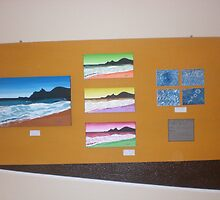 Fiera Group Exhibition.  Cagliari, Sardinia.  Board 1. by Sophia Spencer
