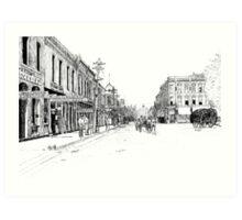 Bentonville, Arkansas Square - 1914 Art Print
