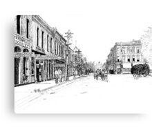 Bentonville, Arkansas Square - 1914 Canvas Print