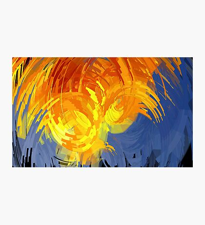 Ocean Aflame Photographic Print
