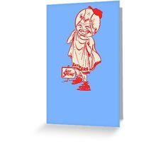 Hot Springs Bathers Baseball Team Greeting Card