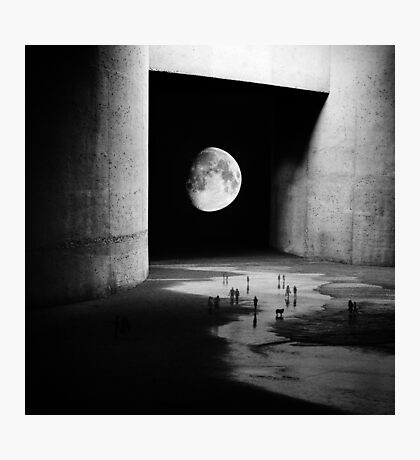 To the Moon Photographic Print
