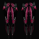 robot legs by Declan Carr
