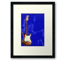 RORYS GUITAR Framed Print