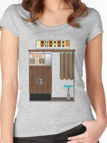 1960 Photobooth Women's Fitted Scoop T-Shirt