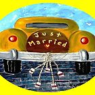 Just Married by WhiteDove Studio kj gordon