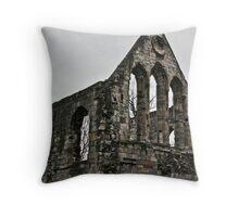City Ruin Throw Pillow