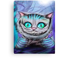 Cheshire Cat from Alice in Wonderland  Canvas Print