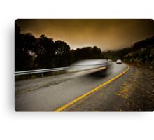 Alpine Traffic Canvas Print