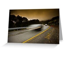 Alpine Traffic Greeting Card
