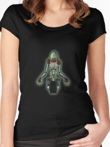 Robots Revenge Women's Fitted Scoop T-Shirt