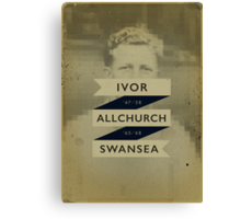 Allchurch Canvas Print