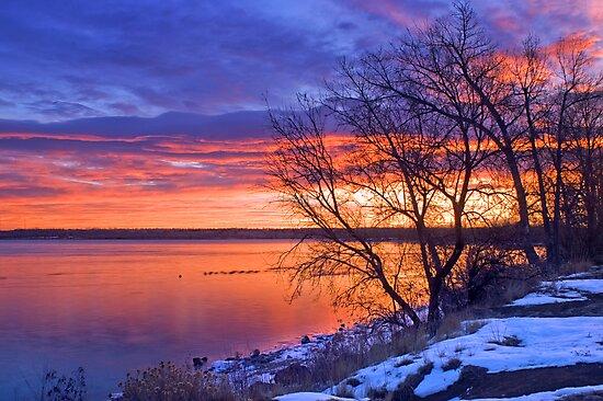 Warmth Of A Winter's Morning by John  De Bord Photography