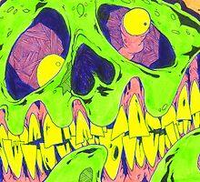Zombie Draw by tastydaver