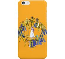Gold Saints and Athena iPhone Case/Skin