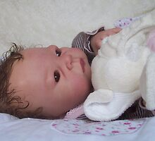 Daisy reborn baby doll by Cassie Peek