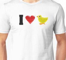 I ♡ Chicks Unisex T-Shirt