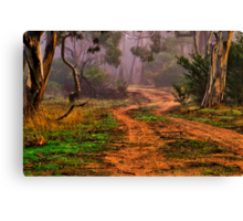 """Meandering into the Mist"" Canvas Print"