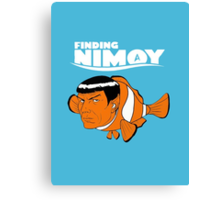 Finding Nimoy Canvas Print