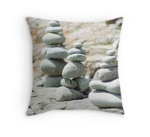 Chortens Bruny Island Tasmania Throw Pillow