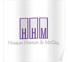 Hamlin, Hamlin & McGill - Better Call Saul Poster